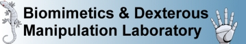 Stanford Biomimetics & Dextrous Manipulation Laboratory